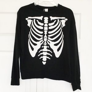 H&M | Skeleton Long Sleeve Sweater